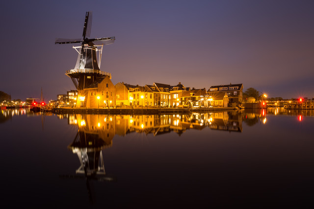Windmill Mirroring - Fineart photography by Moritz Esser