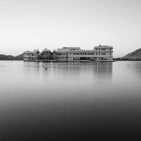 Water palace Udaipur - Fineart photography by Sebastian Rost