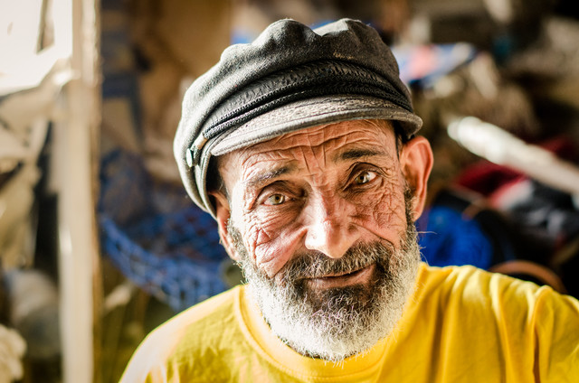 Sharif - the old man and the sea - Fineart photography by Marco Entchev