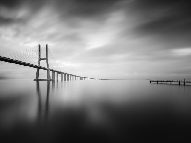 Ponte Vasco da Gama, Lisbon - Fineart photography by Christian Janik