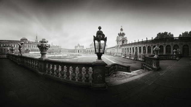Zwinger Panorama Dresden - Fineart photography by Ronny Behnert
