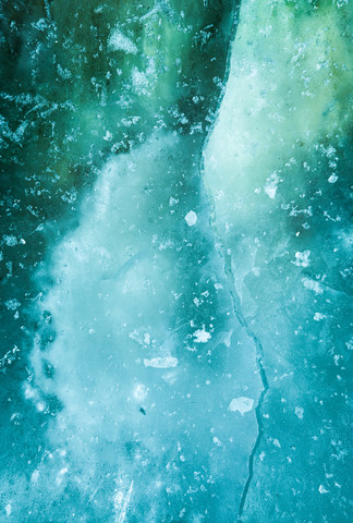 Ice Art #139 - Fineart photography by Sebastian Worm