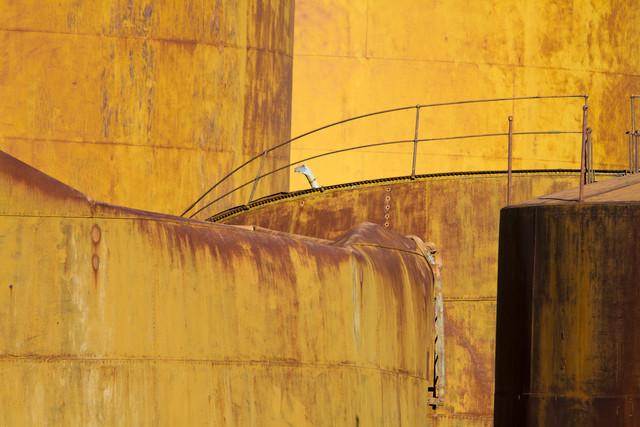Öltanks - Fineart photography by Angelika Stern