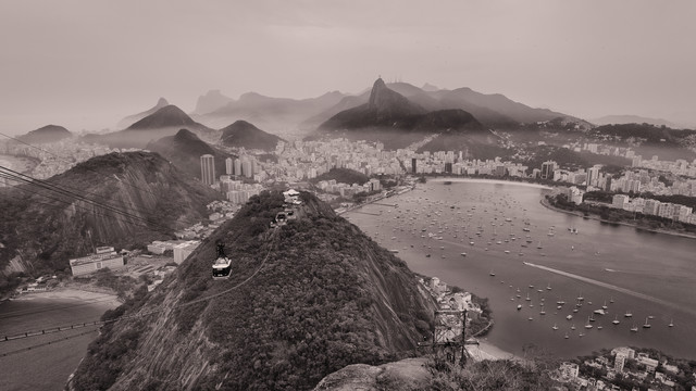 sugarloaf mountain, rio de janeiro  - Fineart photography by Dennis Wehrmann