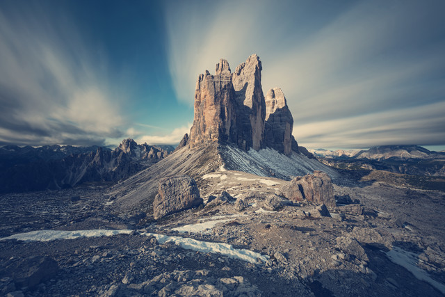 [:] PROFILE OF TRE CIME [:] - Fineart photography by Franz Sussbauer