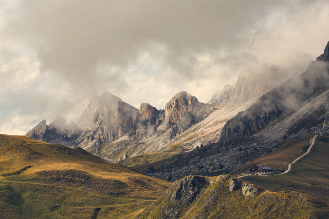 [:] PASSO GIAU AND NUVOLAU [:] - Fineart photography by Franz Sussbauer