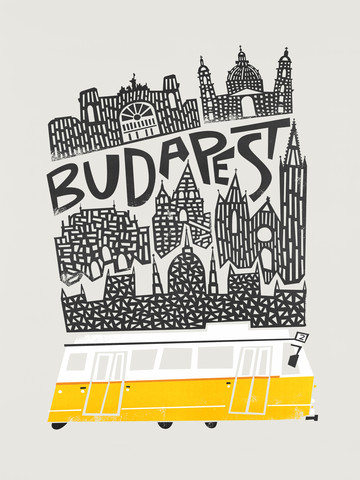 Budapest Cityscape - Fineart photography by Fox And Velvet