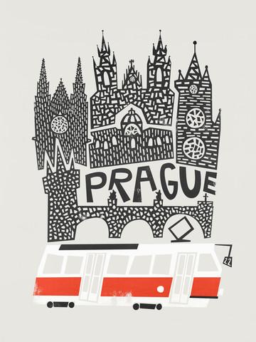Prague Cityscape - Fineart photography by Fox And Velvet