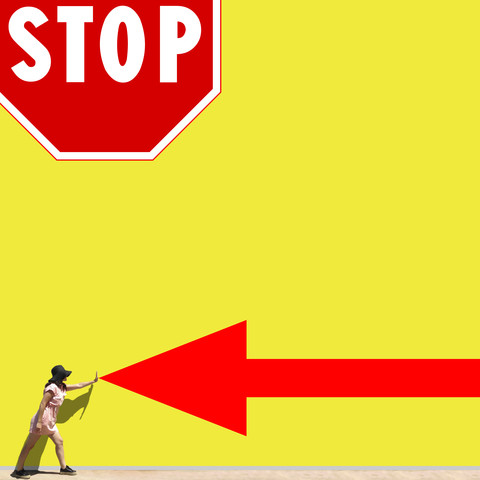 Stop! - Fineart photography by Pascal Krumm