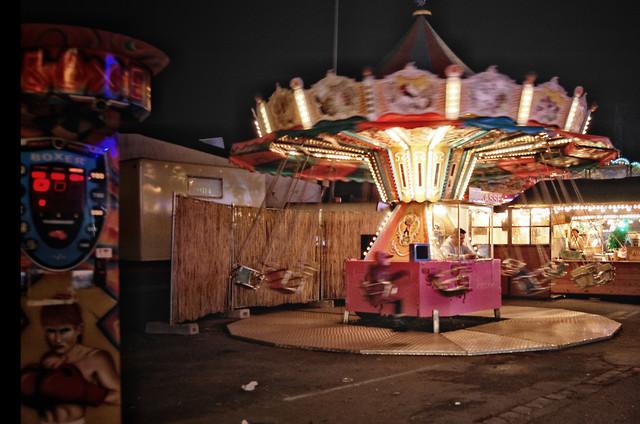 Customers left.  - Fineart photography by Katja Diehl