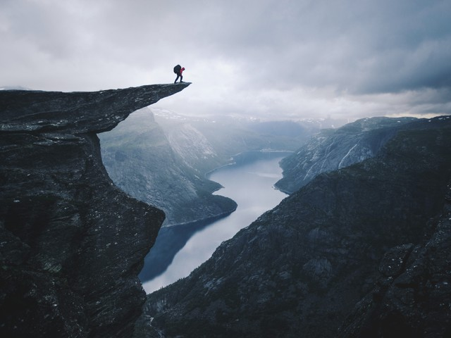 On the edge - Fineart photography by Dominic Lars