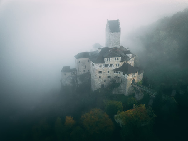 Embraced by fog - Fineart photography by Patrick Monatsberger