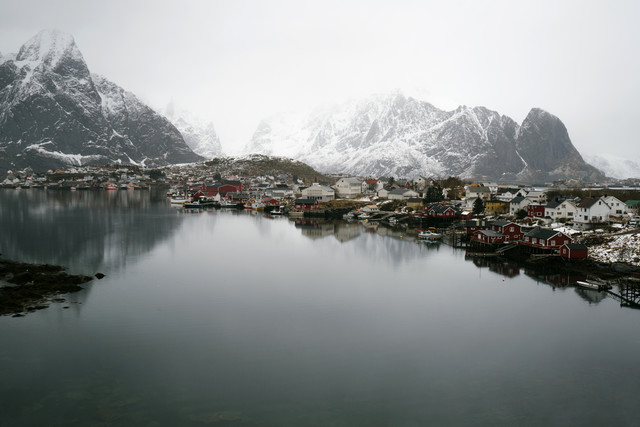 Fishing Village on Lofoten Islands - Fineart photography by Felix Finger