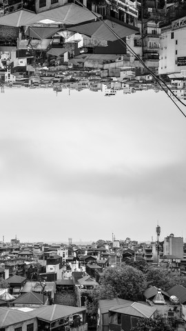 hanoi upside-down - Fineart photography by Arno Kohlem