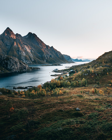 Autumn on the Lofoten - Fineart photography by Frederik Schindler