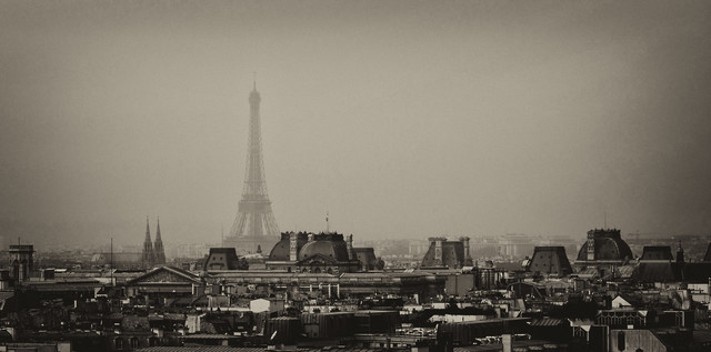 Eiffel tower - Fineart photography by Jochen Fischer