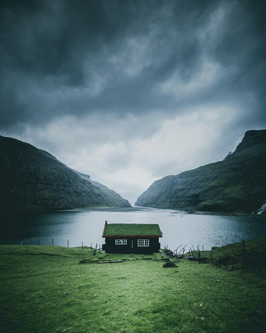 Cabin with a view - Fineart photography by Dorian Baumann