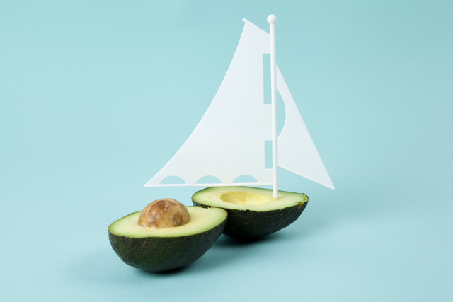 Coule Avocado Boat - Fineart photography by Loulou von Glup
