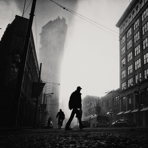 Gastown - Fineart photography by Jianwei Yang
