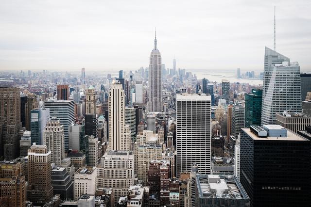 MANHATTAN AERIAL - Fineart photography by Roman Becker