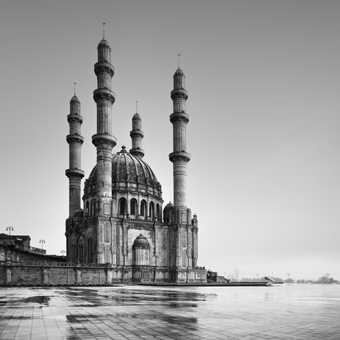 Heydar Aliyev Mosque Baku - Fineart photography by Ronny Behnert