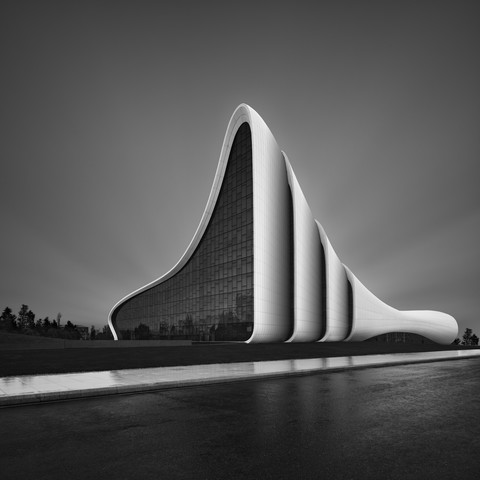 Heydar Aliyev Center Baku - Fineart photography by Ronny Behnert