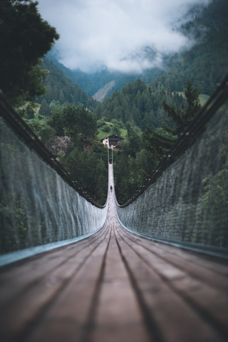 Suspension Bridge - Fineart photography by Johannes Hulsch