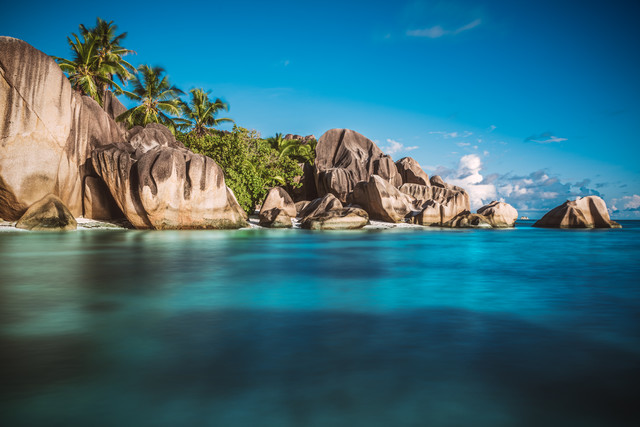 Seychelles La Digue Anse Source d'Argent - Fineart photography by Jean Claude Castor