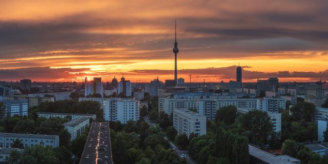 Berlin Sunset - Fineart photography by Jean Claude Castor