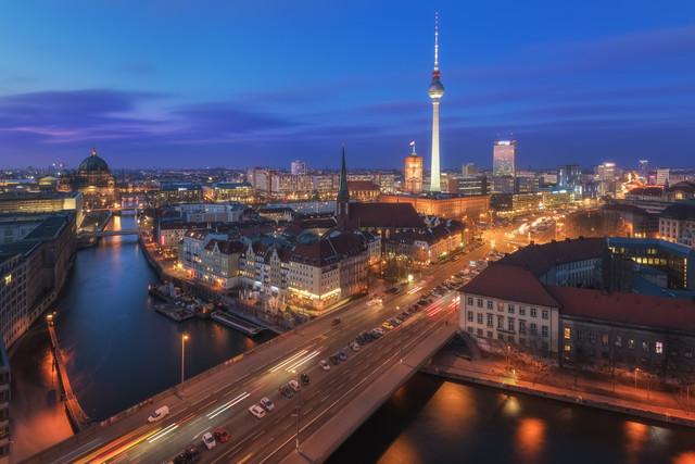 Berlin Classiv View - Fineart photography by Jean Claude Castor