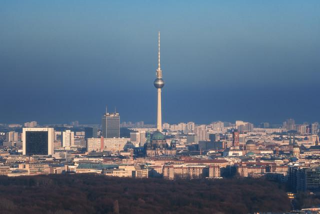 Skyline of Berlin - Fineart photography by Jean Claude Castor