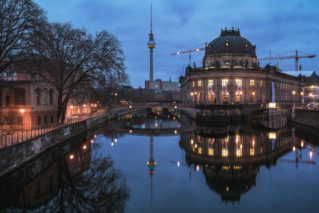 Berlin Museum Island - Fineart photography by Jean Claude Castor
