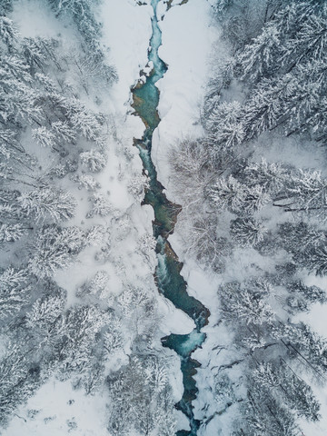 Frozen Creek - Fineart photography by Gergo Kazsimer