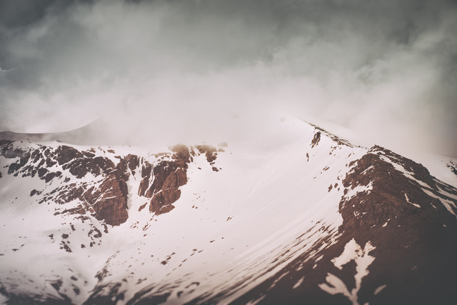 Cloudy Mountains - Fineart photography by Pascal Deckarm