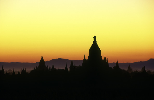 Colourful Bagan - Fineart photography by Martin Seeliger