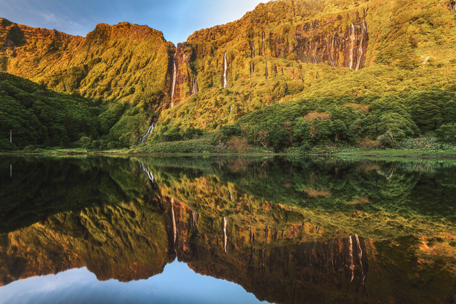 Waterfall Panorama on Flores - Fineart photography by Jean Claude Castor