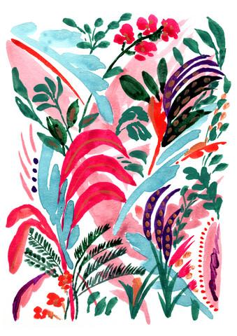 Tropical Scene - Fineart photography by La Tinta Studio Fernanda Martínez