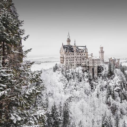 Schloss Neuschwanstein - Fineart photography by Ronny Behnert