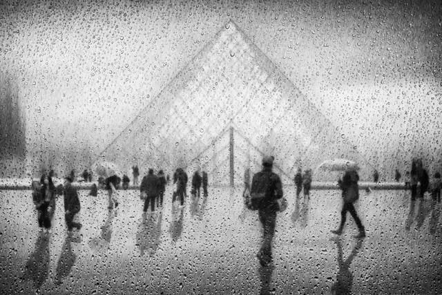 rain in Paris - Fineart photography by Roswitha Schleicher-Schwarz