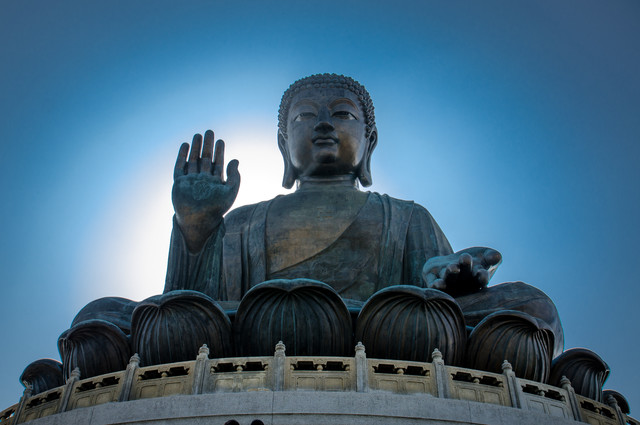 Blessings of the Buddha - Fineart photography by Aleksi Lausti