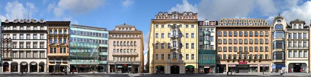Leipzig   Petersstrasse - Fineart photography by Joerg Dietrich
