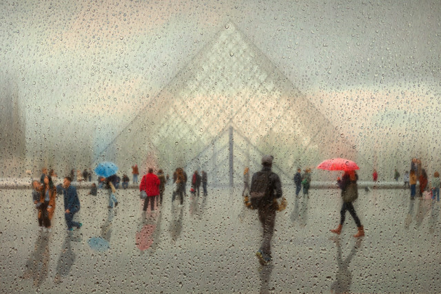 Paris in rain - Fineart photography by Roswitha Schleicher-Schwarz