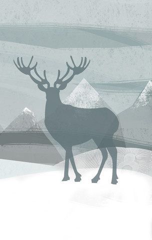 Blue Stag - Fineart photography by Katherine Blower