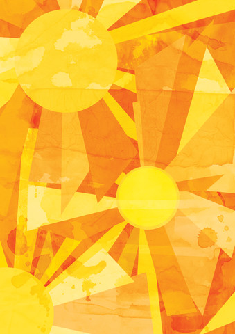 Sun Pattern - Fineart photography by Katherine Blower