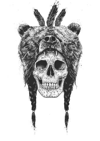 Dead shaman - Fineart photography by Balazs Solti