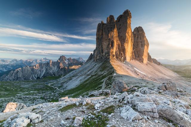 Tre Cime di Lavaredo - Fineart photography by Mikolaj Gospodarek