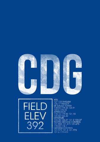 CDG ATC - Fineart photography by Ryan Miller