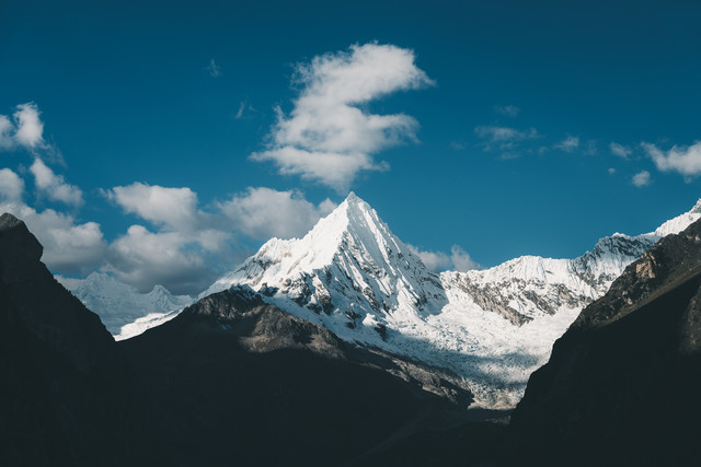 Artesonraju aka Mount Paramount - Fineart photography by Ueli Frischknecht