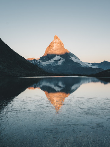 Sunrise at Matterhorn - Fineart photography by Ueli Frischknecht