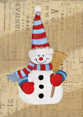 Snowman - Fineart photography by Katherine Blower